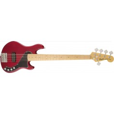 Bajo Elec. Deluxe Dimension Bass V MN, 5 cuerdas, 1 x Hum, Crimson Red Transparent
