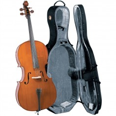 Cello Estudio Superior, 3;4, Tapa: Pino Solido Selecc; B&S: