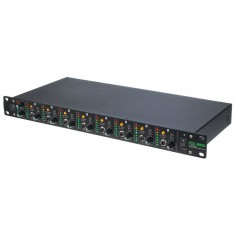 Amplif Aur, -Rack, 16Ch, in: 2x xlr-L-R;TRS, out: 16XLR;TRS
