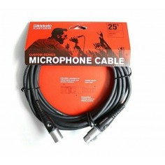 "Cable p; micrófono XLR-XLR 7,5 mts., ""Custom Series"""