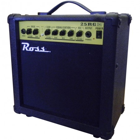 Ross G25R amplificador guitarra 25 watts reverb.