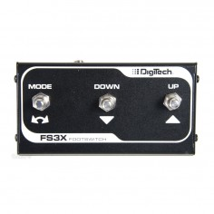 Digitech FS3XV Foot Switch de 3 botones