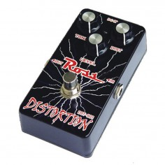 Pedal de Efectos, p;Guitarra, DISTORTION, Metalico, contr: