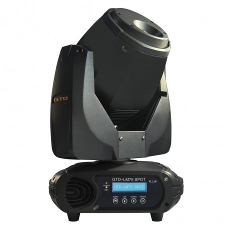 Cabezal Movil SPOT, LED white light 75W, Beam angle: 13°, DMX/RDM, IP20