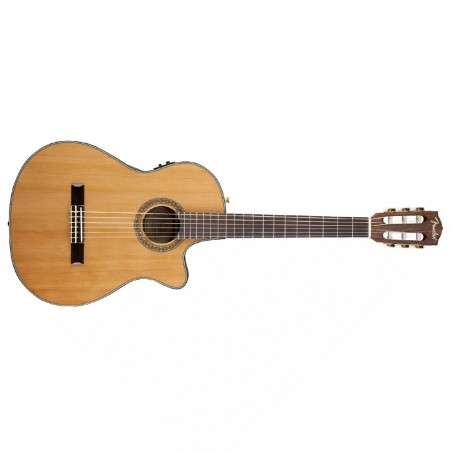 Guitarra electroacústica Fender CN-240SCE Thinline Classical Series Spruce Top