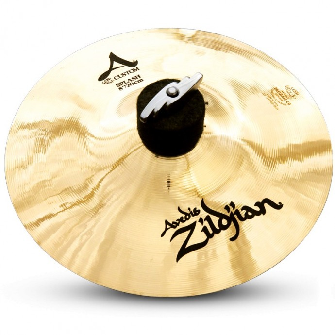 Zildjian A CUSTOM BRILLANT 8¨. Platillo Splash.