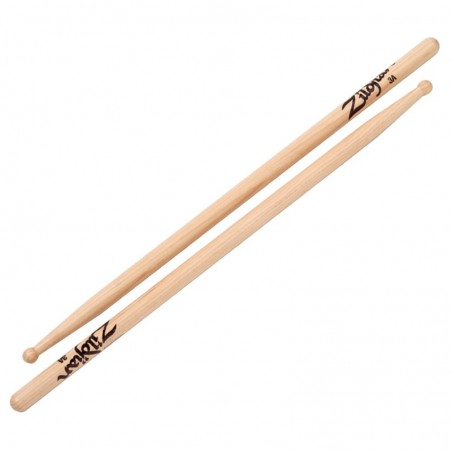 3A WOOD NATURAL DRUMSTICKS 6 PAIR