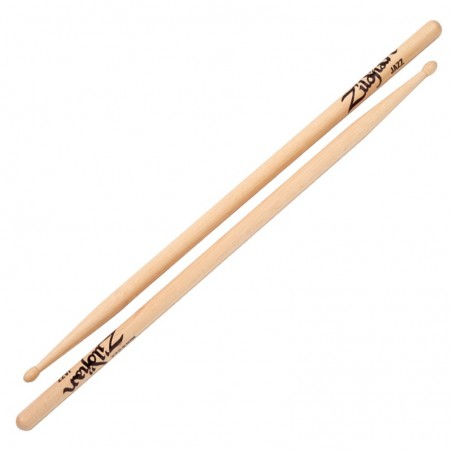 JAZZ WOOD/NAT DRUMSTICKS 6 PR