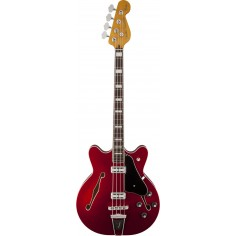 Bajo Elec. Coronado Bass RWN, 1/2 caja, 2 x HB, Candy Apple Red