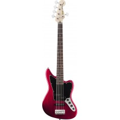 Bajo Elec. Jaguar Bass V Vintage Modified, PJ, Activo, 5C, Crimson Red Transparent