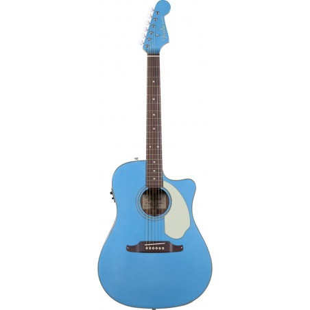 Guitarra E. Acustica Sonoran SCE V2, c/Fishman Isys III, Lake Placid Blue