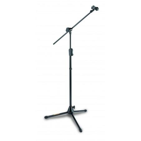 EZ Clutch tripod mic. stand w/ Hideaway 2-in-1 boom & EZ Mic. Clip