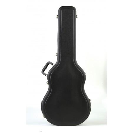 Estuche ABS Economico, p/ Guitarra Acústica/Clásica Thin-line, c/forma, (4 per Carton)