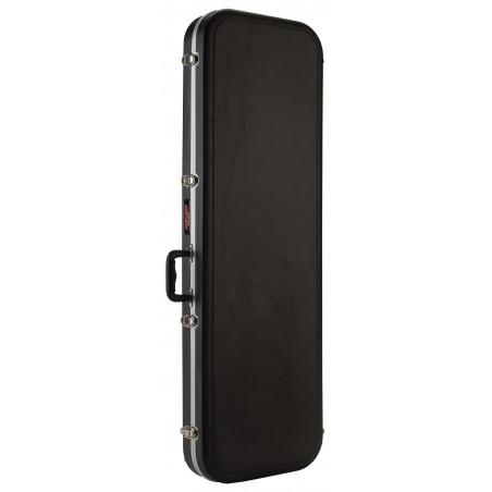 Estuche ABS Economico, p/ Bajo Eléctrico rectangular, interior forrado en felpa (4 per Carton)