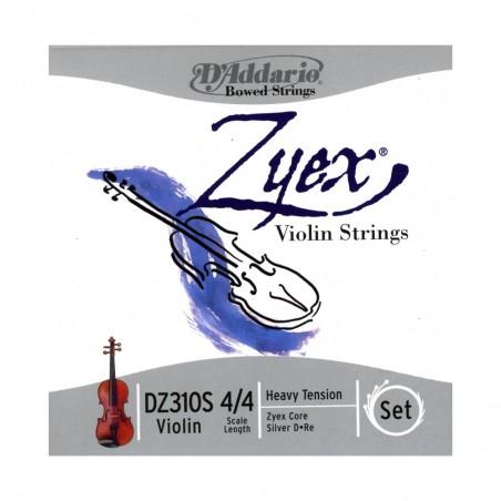 Enc. p; violin, 4;4 ZYEX, Re (D) entorchada en Plata,T: A