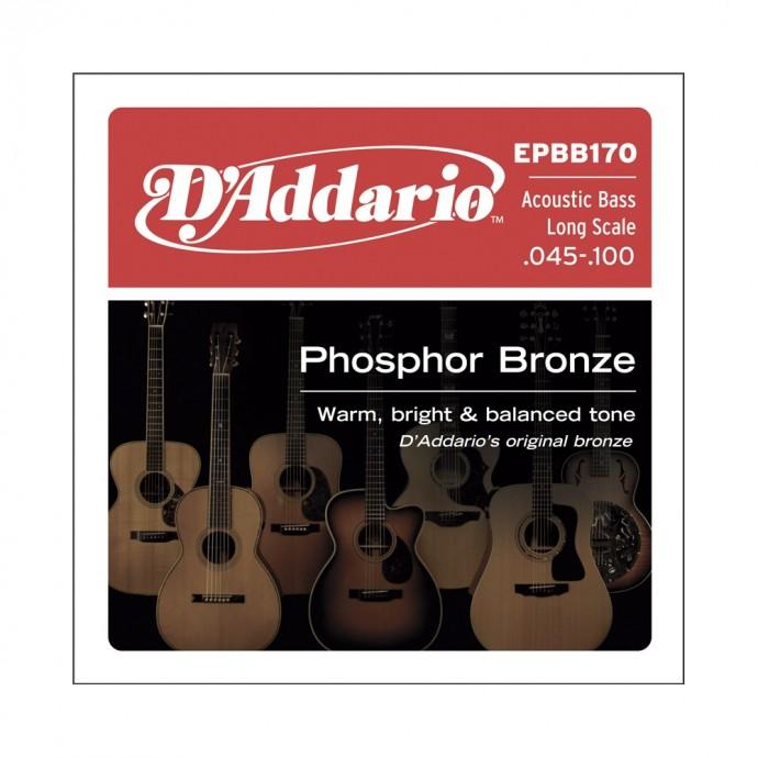 Enc. p; bajo acústico - Bronce Fosforado, Long scale 0.45;.