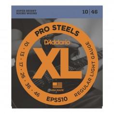 Encordado p/Guit eléctrica EPS510 de acero, regular blandas, 10-46