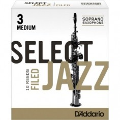 Cañas SELECT JAZZ para Saxo Soprano Filed nº 3M x 1 (MC x 1