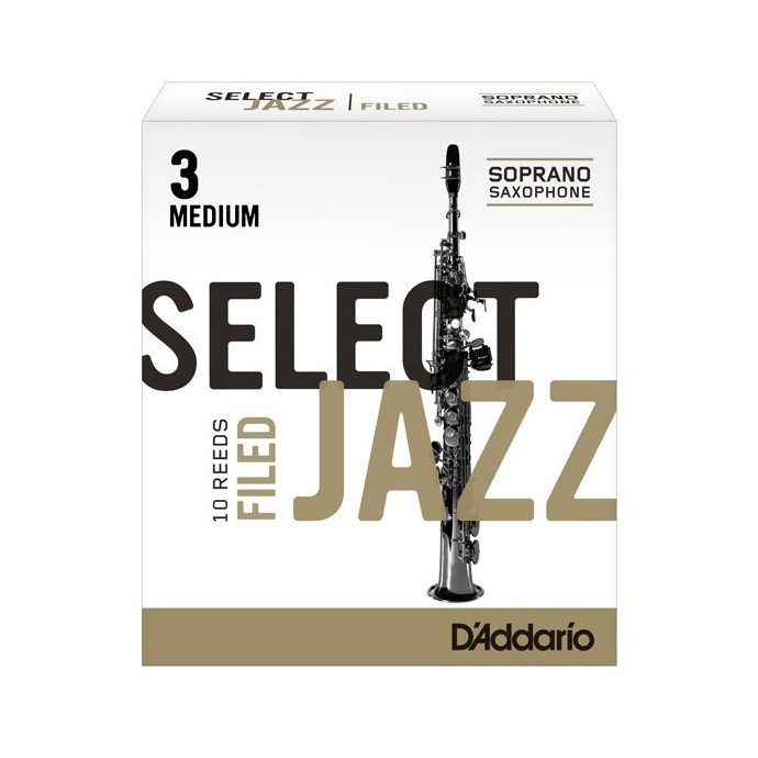 Cañas SELECT JAZZ para Saxo Soprano Filed nº 3S x 1 (MC x 1