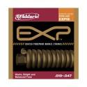Encordado p/Guit acústica EXP15 bronce, extra blandas, 010-047