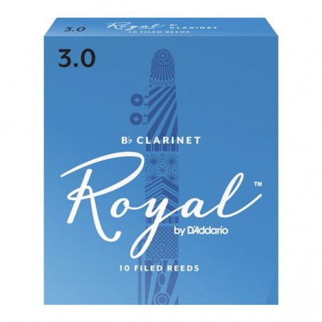 Cañas para Clarinete, RICO ROYAL, , n° 3 1;2 x 1 (MC x 10)