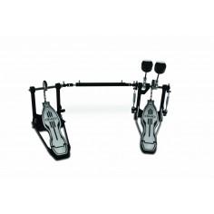 Pedal de bombo doble, SCD, a cadena, mazos tri-tonal