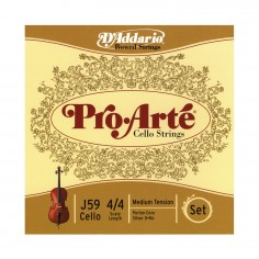 Encordado p; Cello, PROARTE CELLO SET 4;4, T: MED