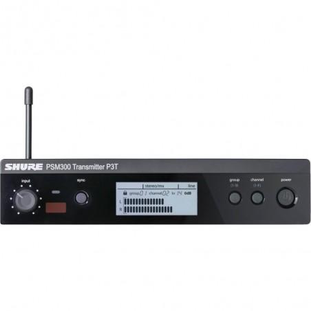 PSM300 Transmisor 1;2u de rack, stereo, ant desmontable, LC