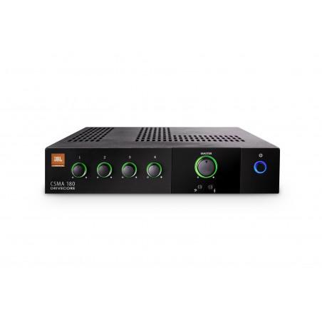 Mixer potenciado p;Instalacion; 4 in;1out 120w; 70-100V;RJ45