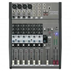 Mixer 4ch Micro+2St, 6Aux, efect , Phantom Power