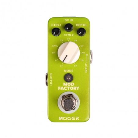 Micro pedal de modulación p;guit., 11 efectos, DSP 32 bits