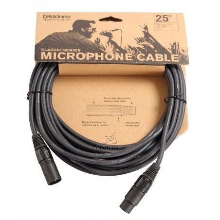 "Cable p; micrófono XLR-XLR 7,5 mts. ""Classic Series"""