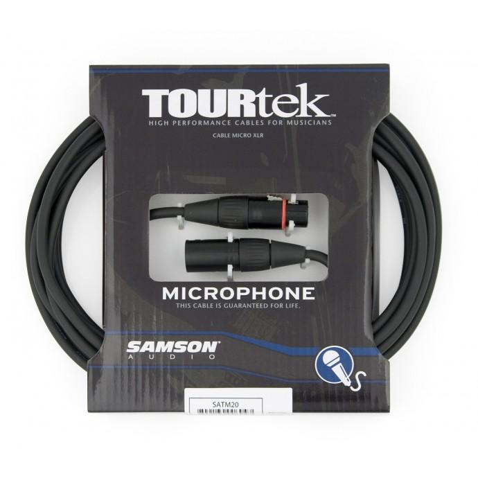 Samson TM20 cable para microfono 6.6mts. xlr-xlr.