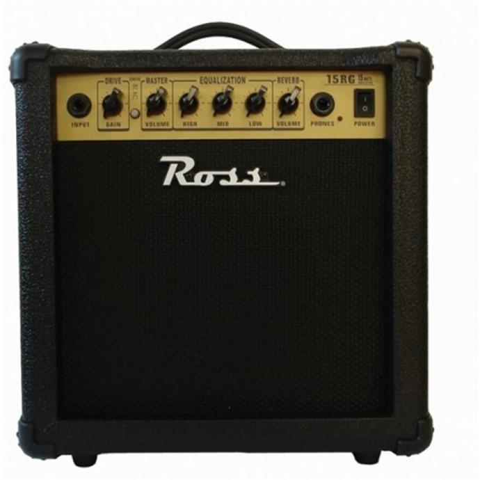 Ross G 15R amplificador guitarra 15 watts reverb.