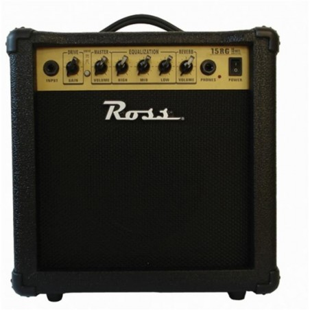 Ross G 15R amplificador guitarra 15 watts reverb.