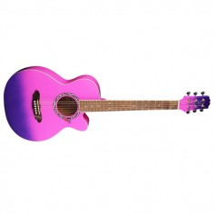 ACOUSTIC GUITAR KIT, PINK PURPLE BURST