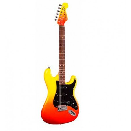 ELECTRIC GUITAR KIT, FLAME BURST