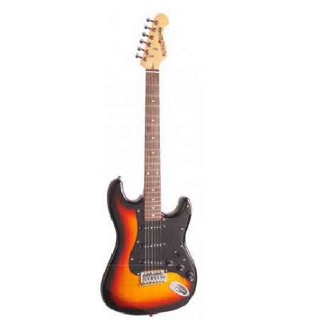 ELECTRIC GUITAR KIT, 3 TONE SUNBURST