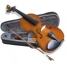 Violin de Estudio, 1;4, t:Abeto, Clav y Diap: Arce, c;Arco,