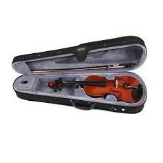 Violin de Estudio, 1;2, t:Abeto, Clav y Diap: Arce, c;Arco,