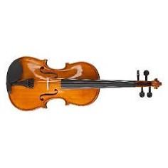 Violin de Estudio, 1;8, t:Abeto, Clav y Diap: Arce, c;Arco,