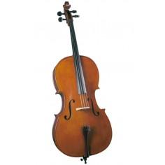 Cello Estudio Superior, 4;4, Tapa: Pino Solido Selecc; B&S: