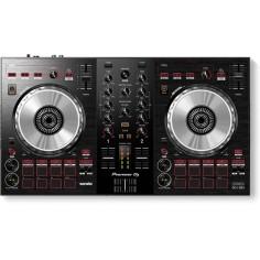 Controlador DJ 2Chs USB, 2 Platos, 8 Pads, Salidas RCA, Entr