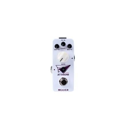 Digital flanger pedal