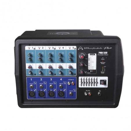 Wharfedale PMX 500 mixer potenciado 5ch.