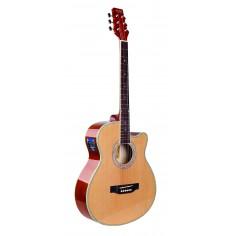 Guitarra Electroacústica | Cutaway | 5 bandas EQ | Afinador