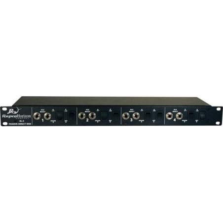 Caja Directa de Rack x 4, (EX DBR-400)