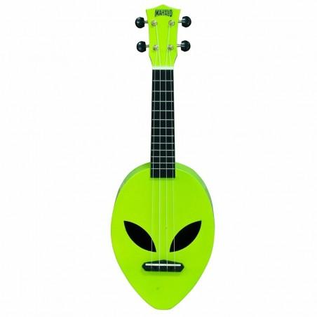 Alien , neon green