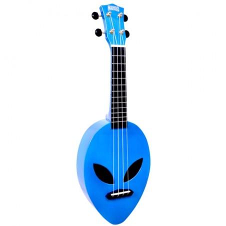 Alien, metalic blue