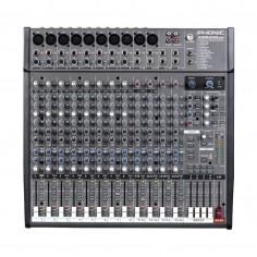 Mixer 8XLR;linea +4st, 4 grupos, DFX, Sal dir p; grab Multi